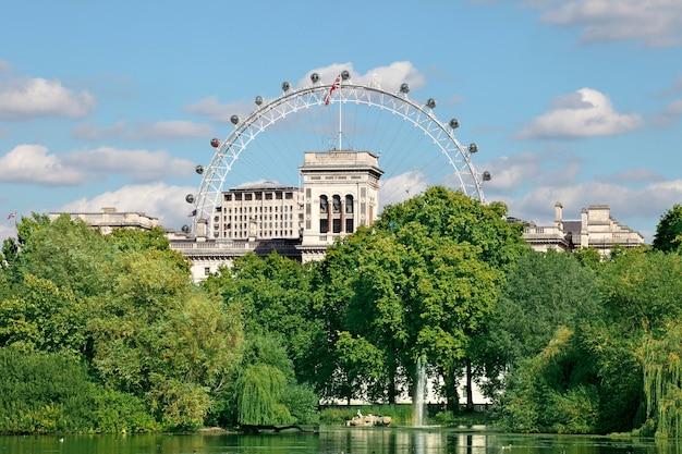 London eye view da st. james's park