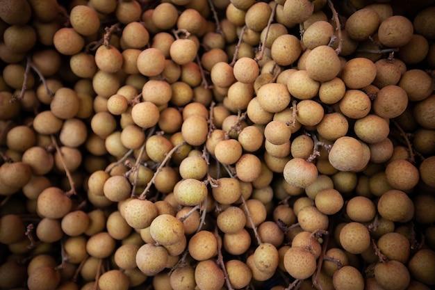 Sfondo di frutta longan