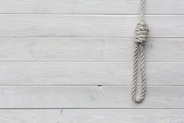 Loop lynch boia stringe la corda per appendere la pena di morte