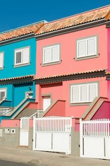 Case di tanti colori in città