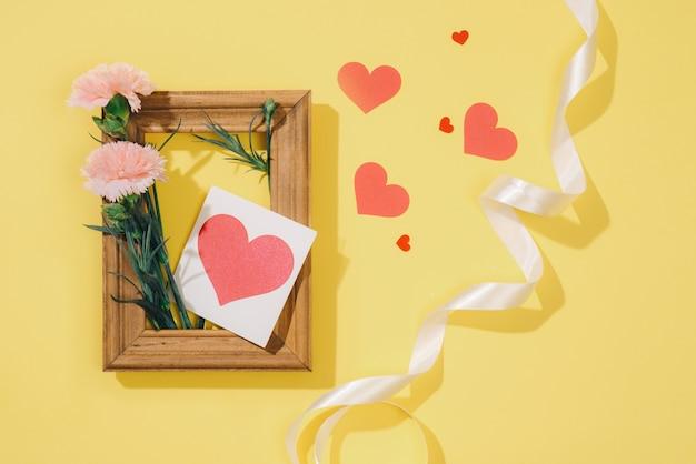 Amore o concetto di san valentino.
