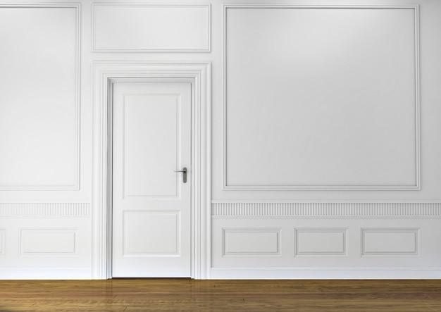 Splendida porta di lusso