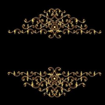 Elemento di lusso della decorazione del gesso della rappresentazione 3d dello stucco di concetto della parete