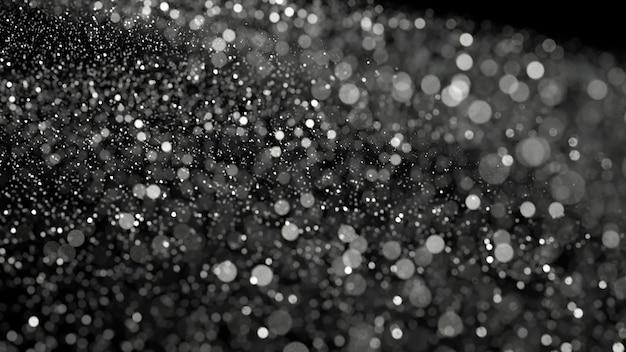 Sfondo glitter vacanza di lusso. illustrazione 3d, rendering 3d.