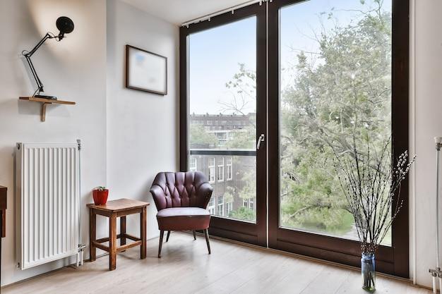 Interior design di lusso di una casa moderna
