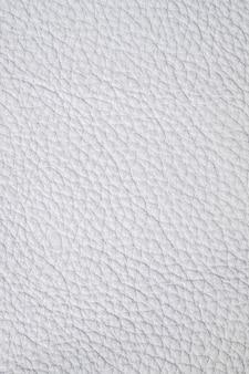 Primo piano di campioni di cuoio bianco di lusso