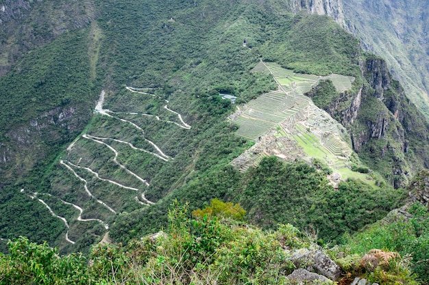 Machu picchu, un patrimonio mondiale dell'unesco