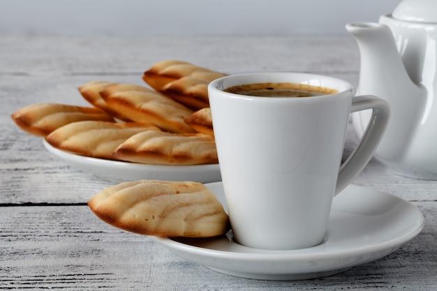Madeleines con caffè