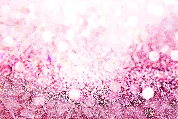 Sfondo fantasia glitter rosa magenta Foto Premium