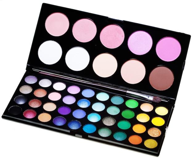 Collezione di make-up per visage creativo