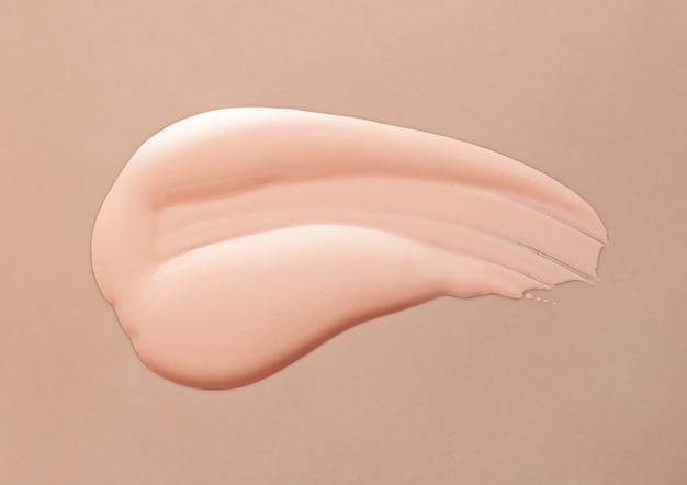 Trucco fondotinta bb crema sbavature crema in polvere sfondo texture
