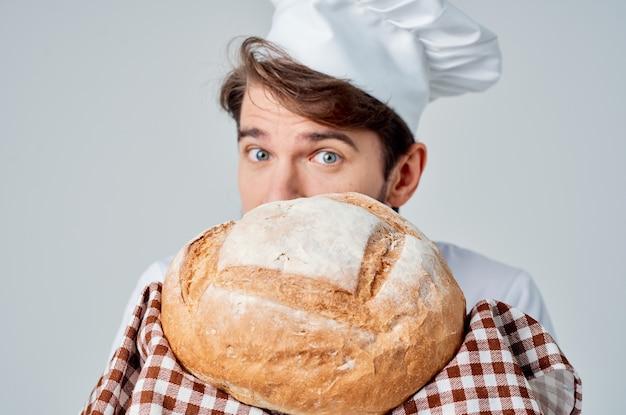 Cuoco maschio ristorante fornitura di servizi emozioni professionali