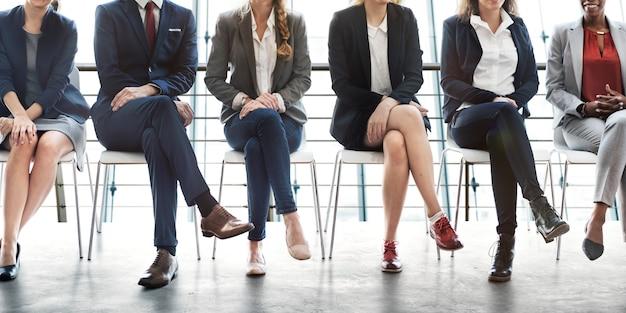 Concetto di opportunità di successo di carriera manageriale