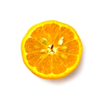Mandarino su bianco 2
