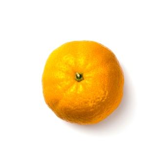 Mandarino su un bianco