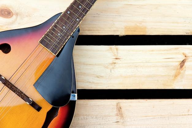 Concetto di mandolino