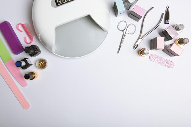 Strumenti per manicure per creare smalti gel tutto per il trattamento delle unghie