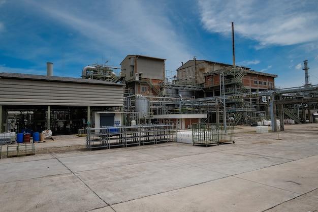 Fabbricazione di impianti industriali di polimeri, costruzione di impianti chimici di fabbrica e pipeline