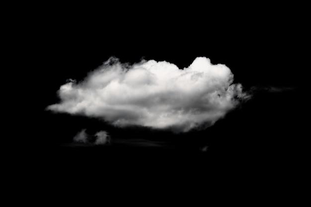 Molte nuvole in isolato. estate nuvoloso. nuvole bianche.