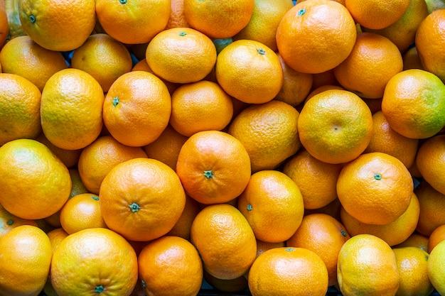 Molti sfondo di mandarini