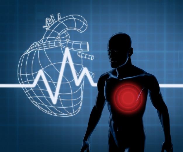 Mappatura grafica cuore e corpo