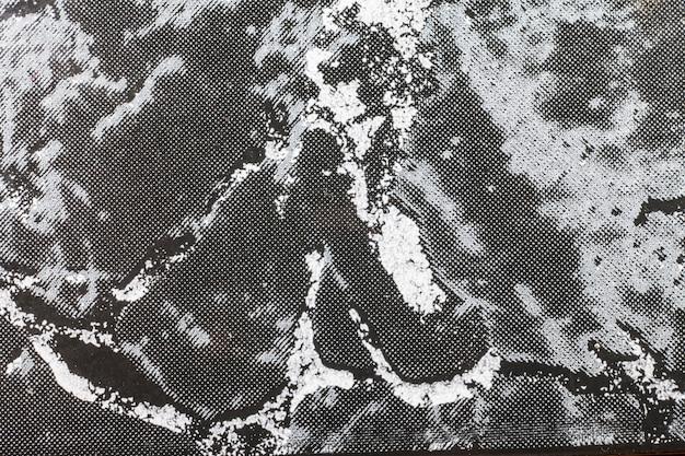 Struttura della superficie in marmo con tinta nera