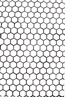 Piastrelle in marmo alla moda piccoli quadrati bianchi con il nero. posto per il design.