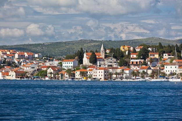 Marina frapa rogoznica croazia vista
