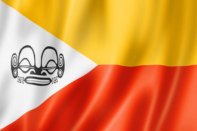 Bandiera delle isole marchesi, polinesia francese
