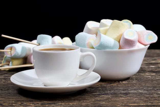 Marshmallow e caffè