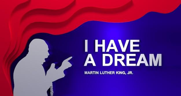 Celebrazione del giorno di martin luther king jr.