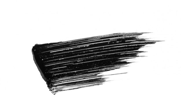 Pennellata di mascara isolata