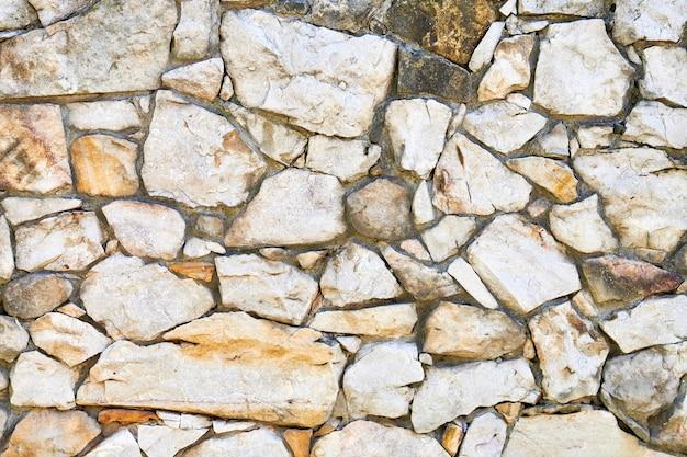 Struttura della parete di roccia in muratura