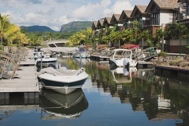 Mauritius yacht club, isola tropicale