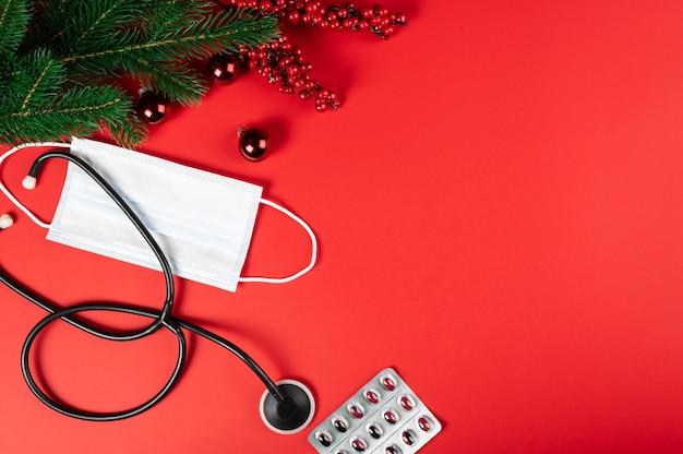 Attrezzature mediche e decorazioni natalizie