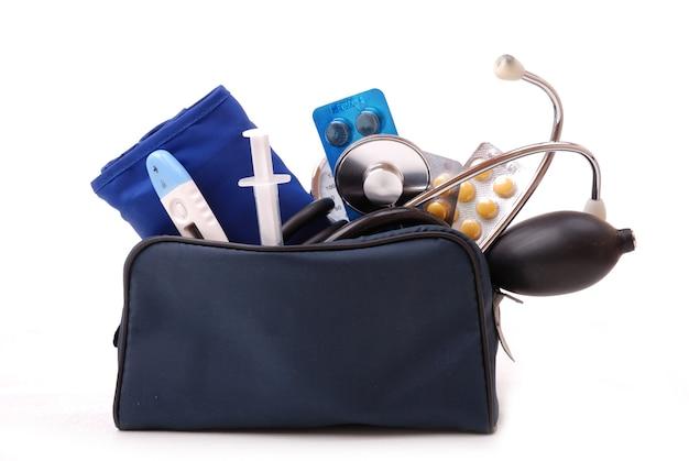 Set medico per pronto soccorso