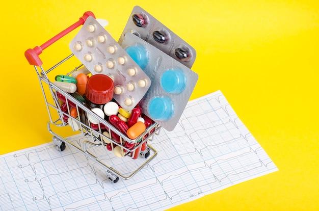 Concetto di medicina e salute.
