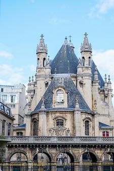 Castello medievale nel centro di parigi