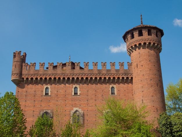 Castello medievale a torino