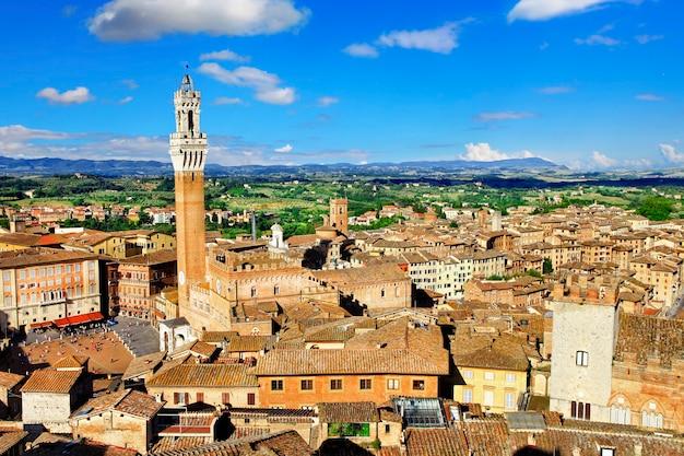 Città medievale di siena