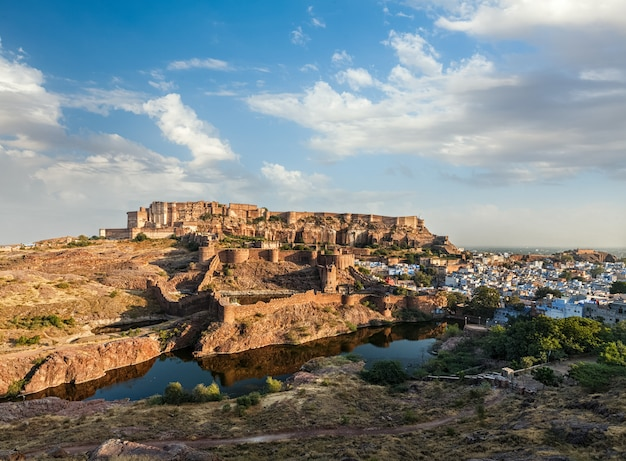 Forte mehrangarh, jodhpur, rajasthan, india