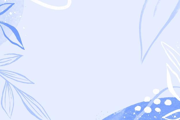 Sfondo blu fantasia memphis