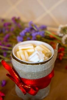 Tazza buon natale cacao e marshmallow