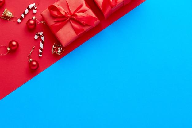 Auguri di buon natale e buone feste, cornice, banner