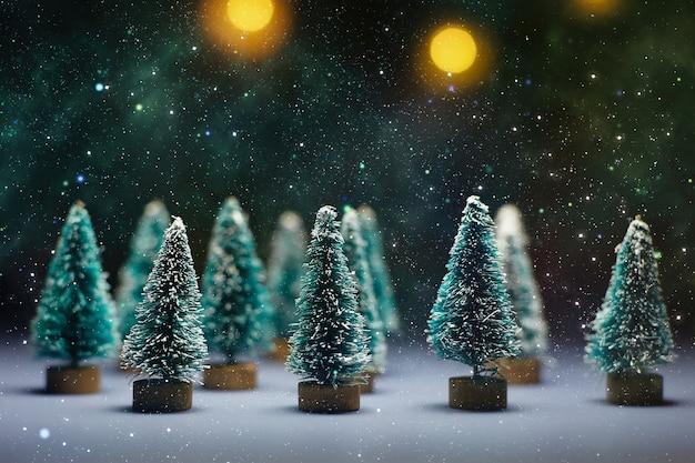 Buon natale e felice anno nuovo. sfondo di capodanno con decorazioni di capodanno.