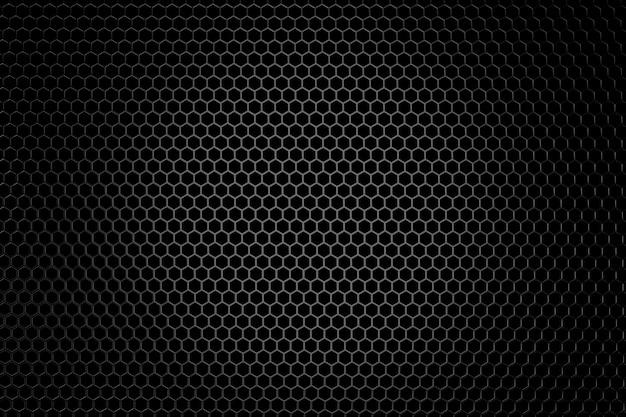 Sfondo di metallo. rendering 3d. Foto Premium
