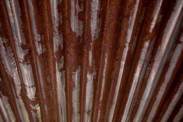 Sfondo metallo ruggine, acciaio decaduto