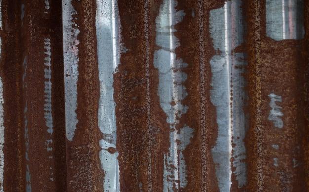 Sfondo di metallo ruggine, acciaio di decadimento