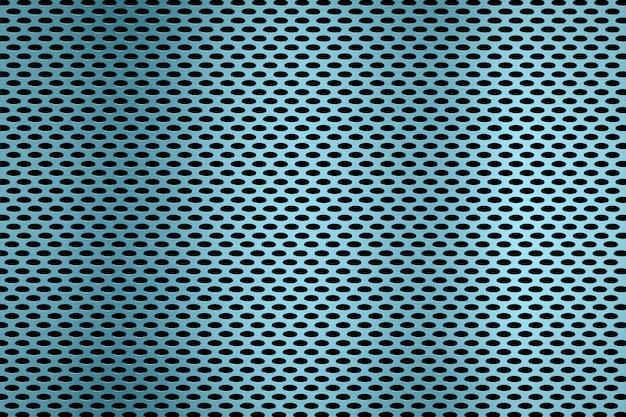 Schermo metallico o sfondo griglia metallica