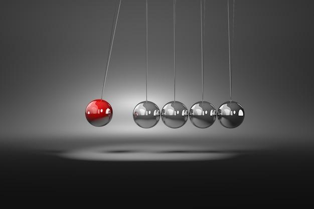 Meccanismo a sfere metalliche